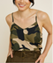 She's in Charge Camo Tank