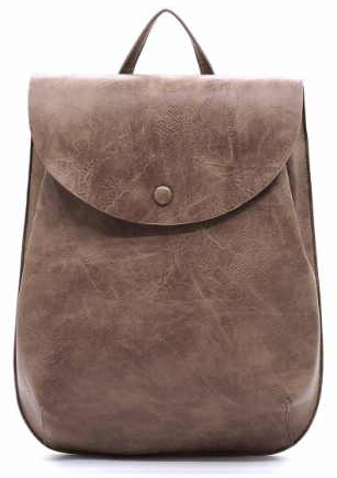 Stone // Brea Vegan Leather Convertible Backpack