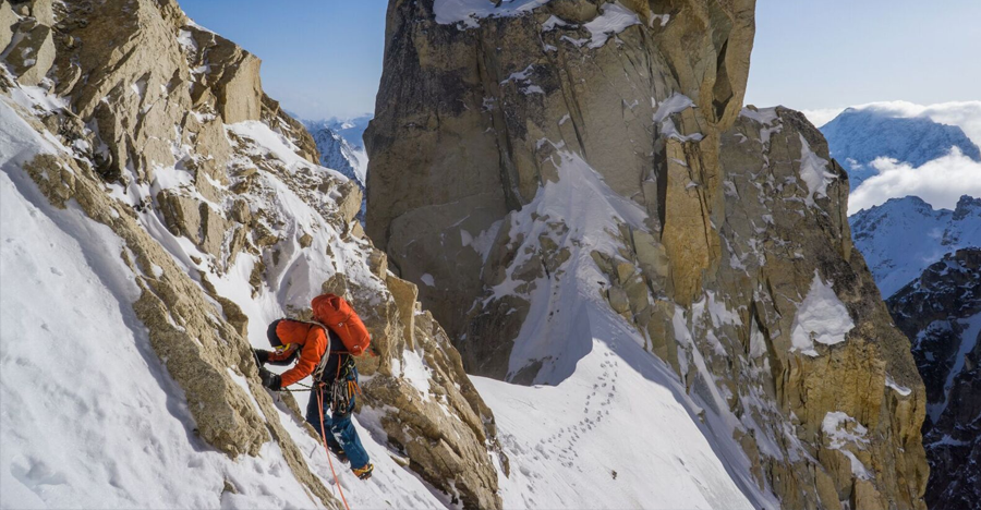 Fun or Fear : New Route on Mt. Jezebel by Uisdean Hawthorn, Tom Livingstone
