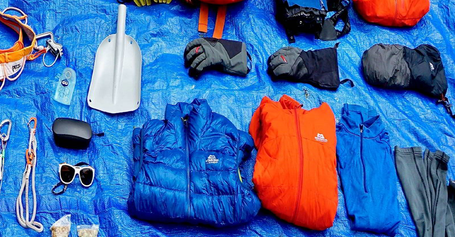 Tom Livingstone's Latok I Expedition Kit List