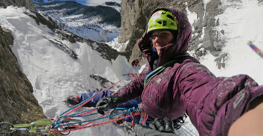 Cold, Cold, Canada : Ice Climbing in the Canadian Rockies |  Susi Süßmeier