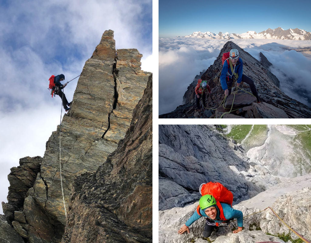 British alpinist meet with Tom Livingstone