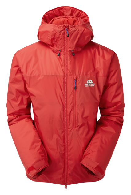 PrimaLoft® Gold and DRILITE® Loft are combined in a jacket for serious use
