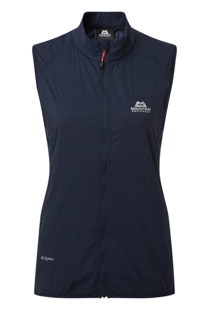 Lightweight 20D RS Nylon outer fabric with mechanical stretch on front of body; highly breathable and wind resistant