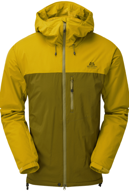 Lightweight HeliumAP outer fabric with mechanical stretch; highly breathable and wind resistant
