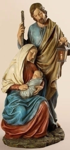 Holy Family Jesus Mary Joseph Religious Statue  Roman Exclusive