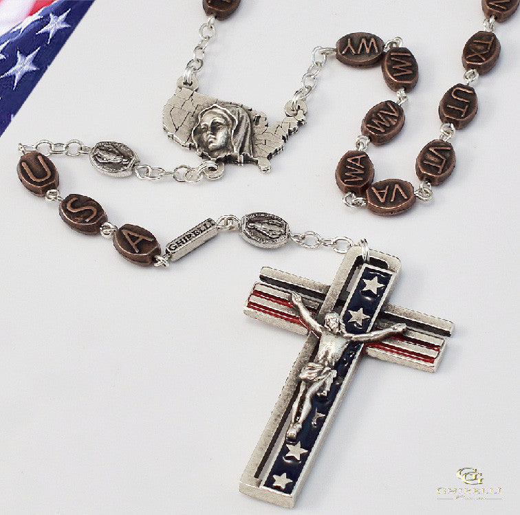 The Usa Rosary by Ghirelli