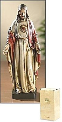 Sacred Heart of Jesus Statue  Toscana Collection