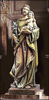 "Saint Joseph Basilica  Church Statue 48"" tall"