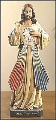 Divine Mercy of Jesus Statue    Toscana Collection