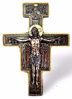 Jesus San Damiano Wall Crucifix SOLD OUT COMING SOON