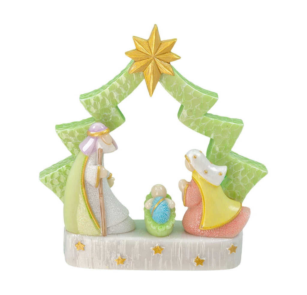 Holy family nativity scene Chrstmas Tree Ornament