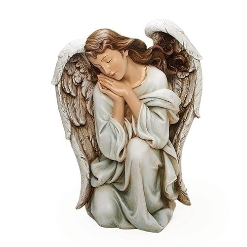 Kneeling Angel Statue Church Or Chapel  Extra Large Size 22 1/2 Inches tall