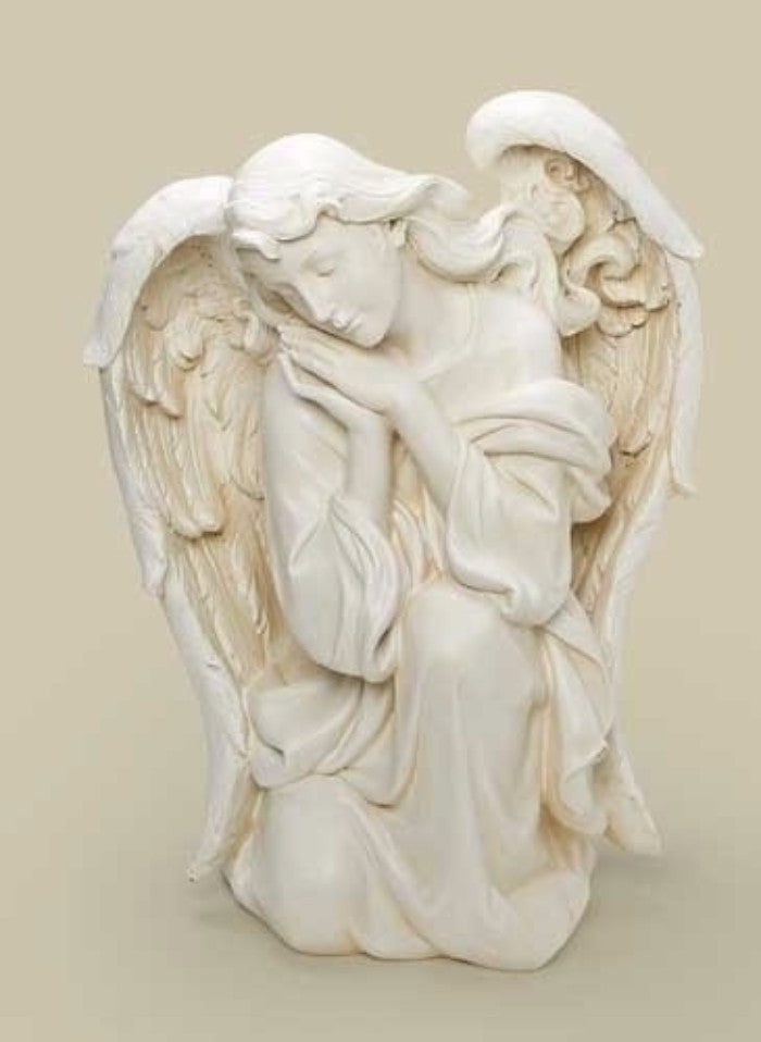 Kneeling Angel Memorial Large Size Garden Statue