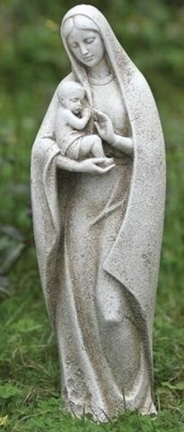 Madonna Holding Baby Garden or Memorial Statue SOLD OUT COMING SOON