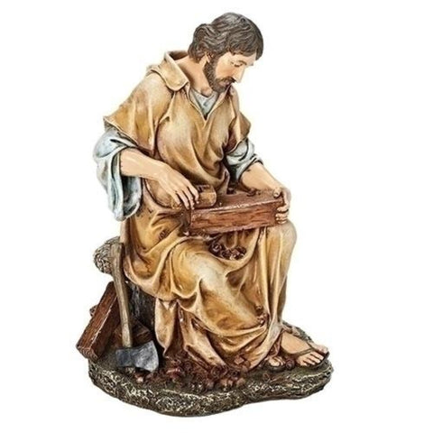 Saint Joseph The Carpenter Figure Renaissance Collection