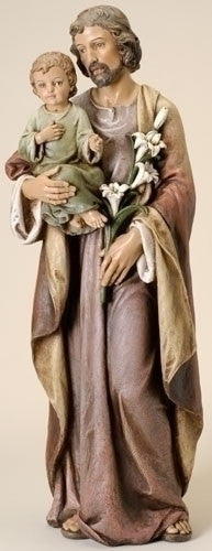 "Saint Joseph and Child Jesus Statue 37"" Tall"