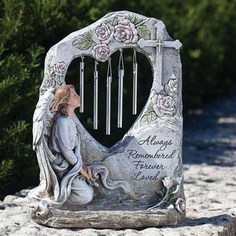Always Remembered And Loved Angel Memorial Figure