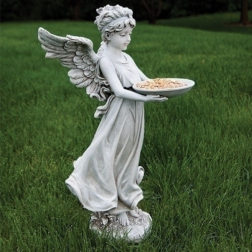 Angel With Large WIngs Bird Feeder For Garden Or Patio decor SOLD OUT COMING SOON