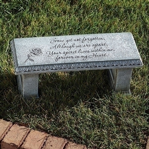 Memorial Bench For Garden Or Grave