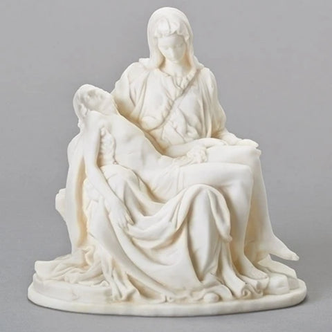 The Pieta Figure Sorrowful Mother With Jesus In Her Arms