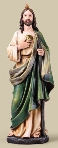"Saint Jude The Miracle Worker Figure 14"" Tall From The Joseph Studio"