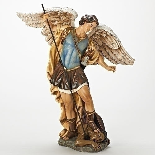 Archangel Saint Micheal With Sword   Amazing St Of Protection