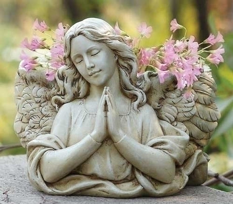 Praying Angel Bust Planter Figure From Joseph Studios