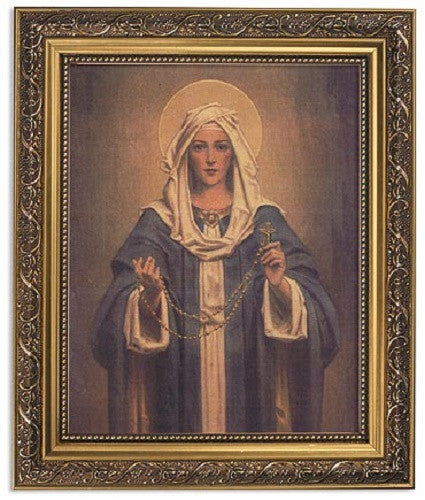 Madonna Of The Rosary Print By Artist CB Chambers
