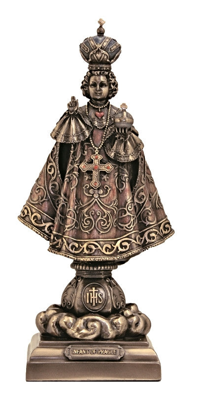 Infant of Prague Jesus Child Statue - Veronese Collection