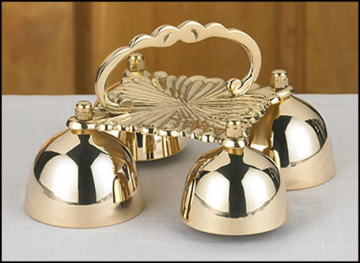 Brass Sacristy Bells for Altar Mass