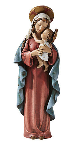 Madonna and Child Statue M.I. Hummel  Hand Painted Madonna Collection