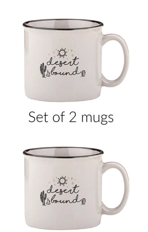 Desert Bound Campfire Mug Set of 2
