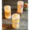 Trust In The Lord With All Your Heart Led Candle