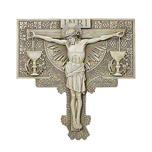 Jesus Inri wall crucifix