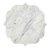 White And Lavender Grey Marble Board