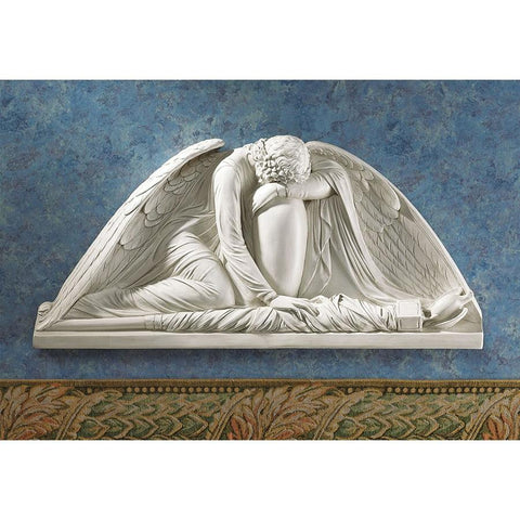 Weeping Angel Wall Sculpture