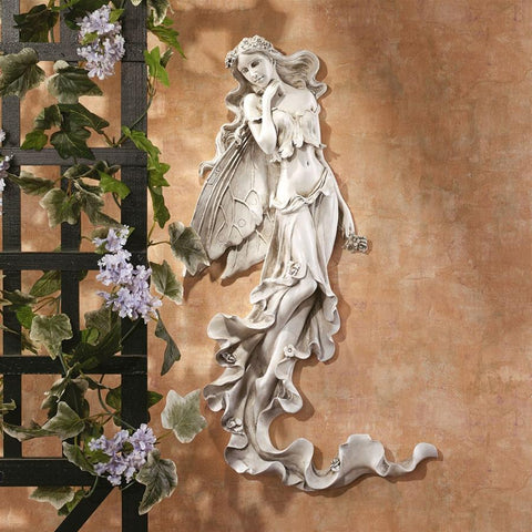 Summer Breeze Fairy Wall Sculpture