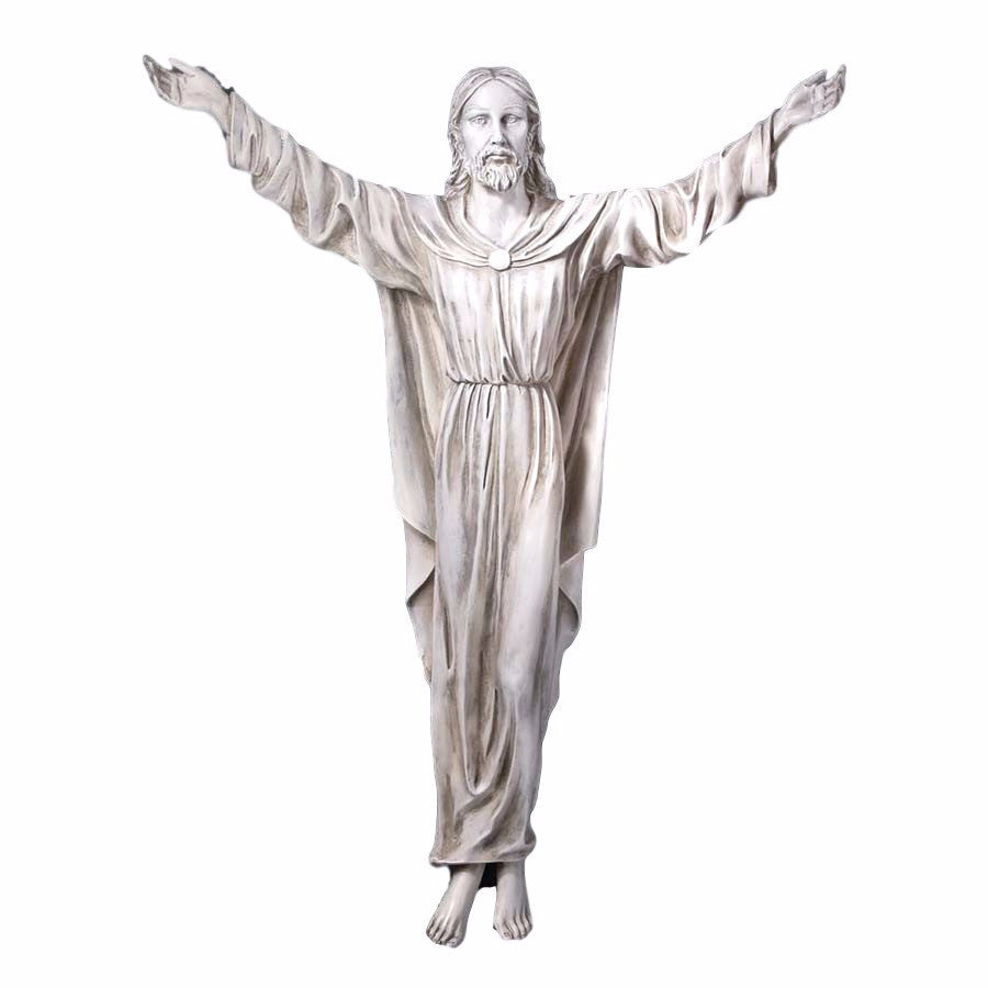 Risen Jesus The Benediction of Jesus Wall Sculpture - Large Size