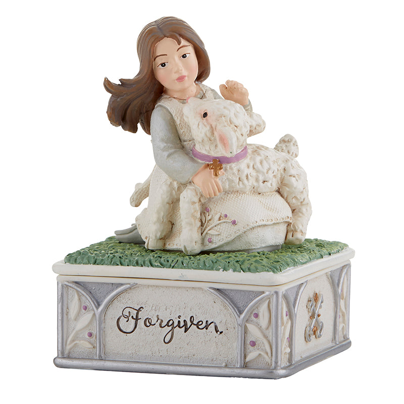 Reconciliation Keepsake Box For Girl