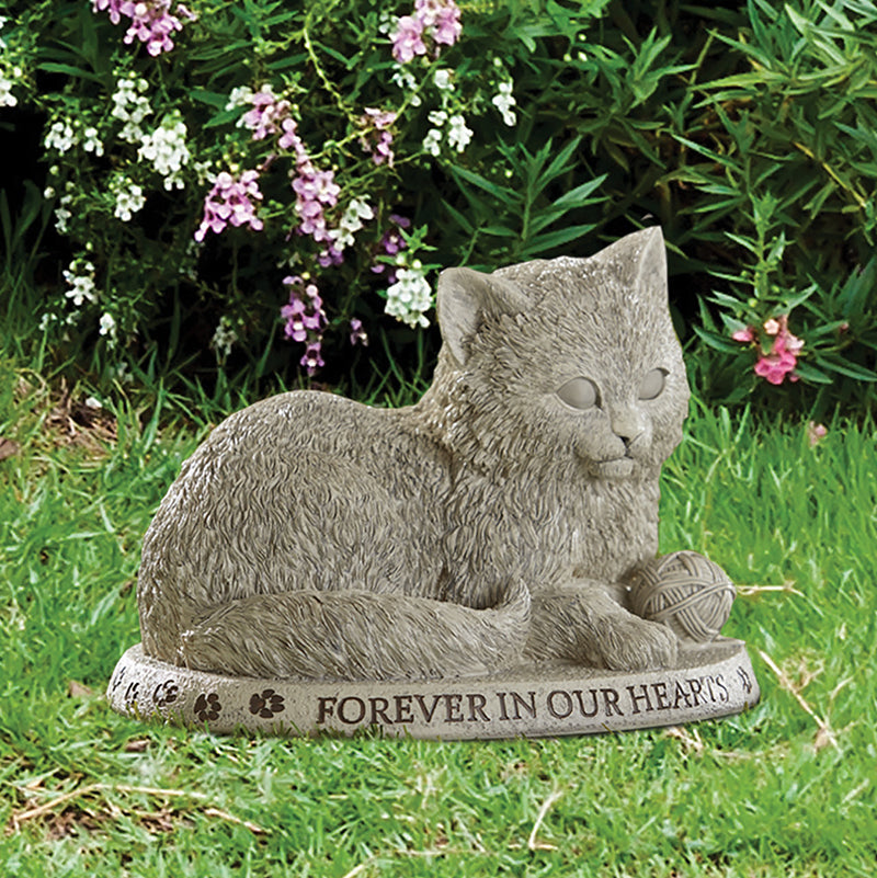 Forever in Our Hearts Cat Garden Marker