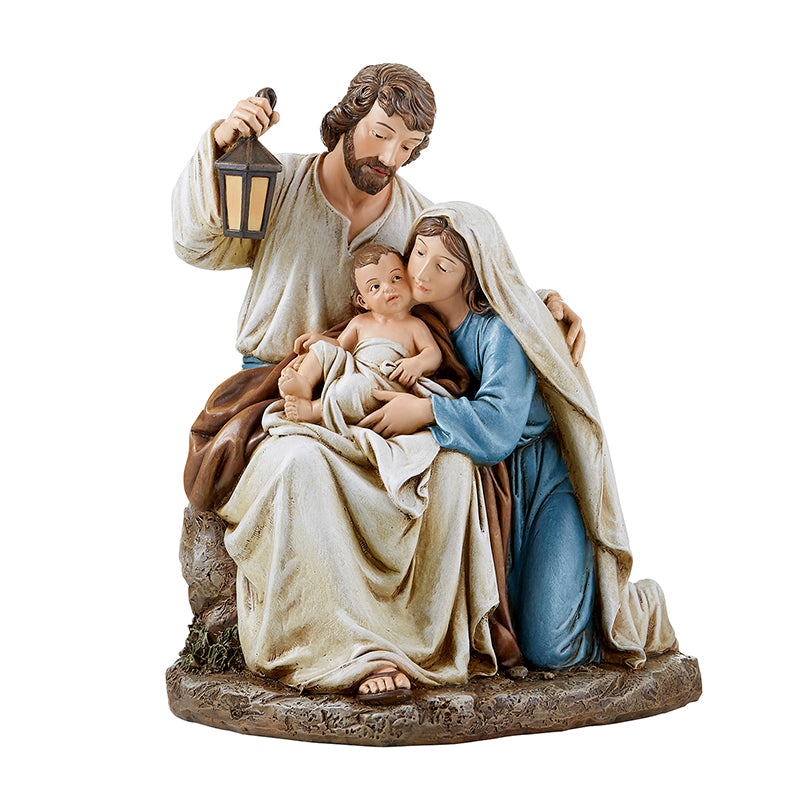 Blessed Holy Family Figure Mary Jesus And Joseph