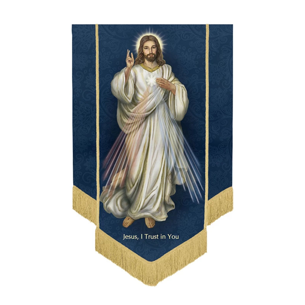 Divine Mercy Of Jesus Banner