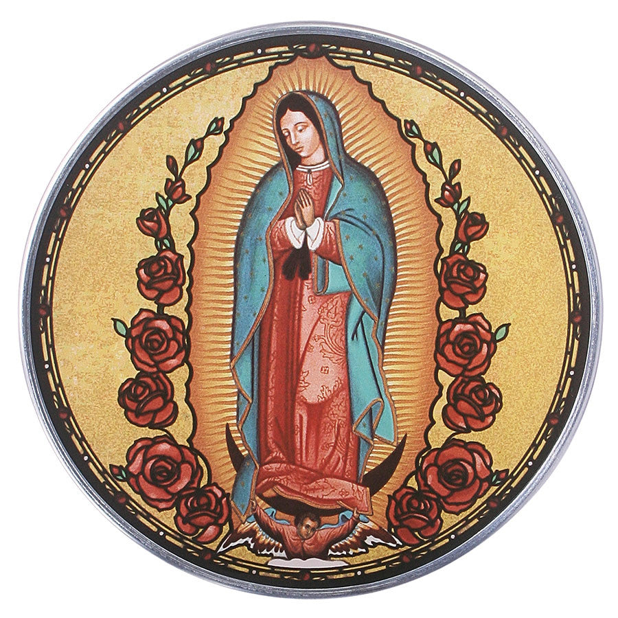 Our Lady Of Guadalupe Glass Art