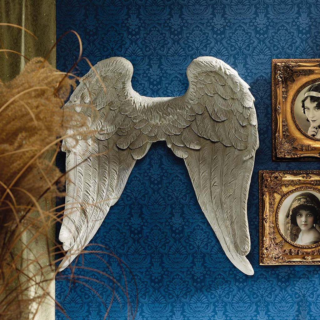 Heavenly Angel Wings Wall Art