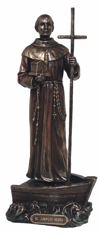 "Saint Junipero Serra Figure 9"" tall  Veronese collection"