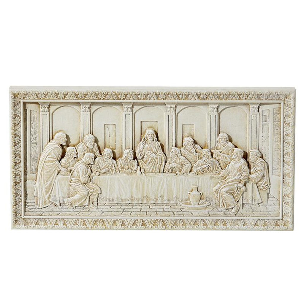 LAST SUPPER PLAQUE BY MICHAEL ADAMS Ivory