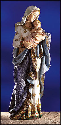 Loving Madonna and Child Catholic Church Statue - Ave Maria Statue 23.5""