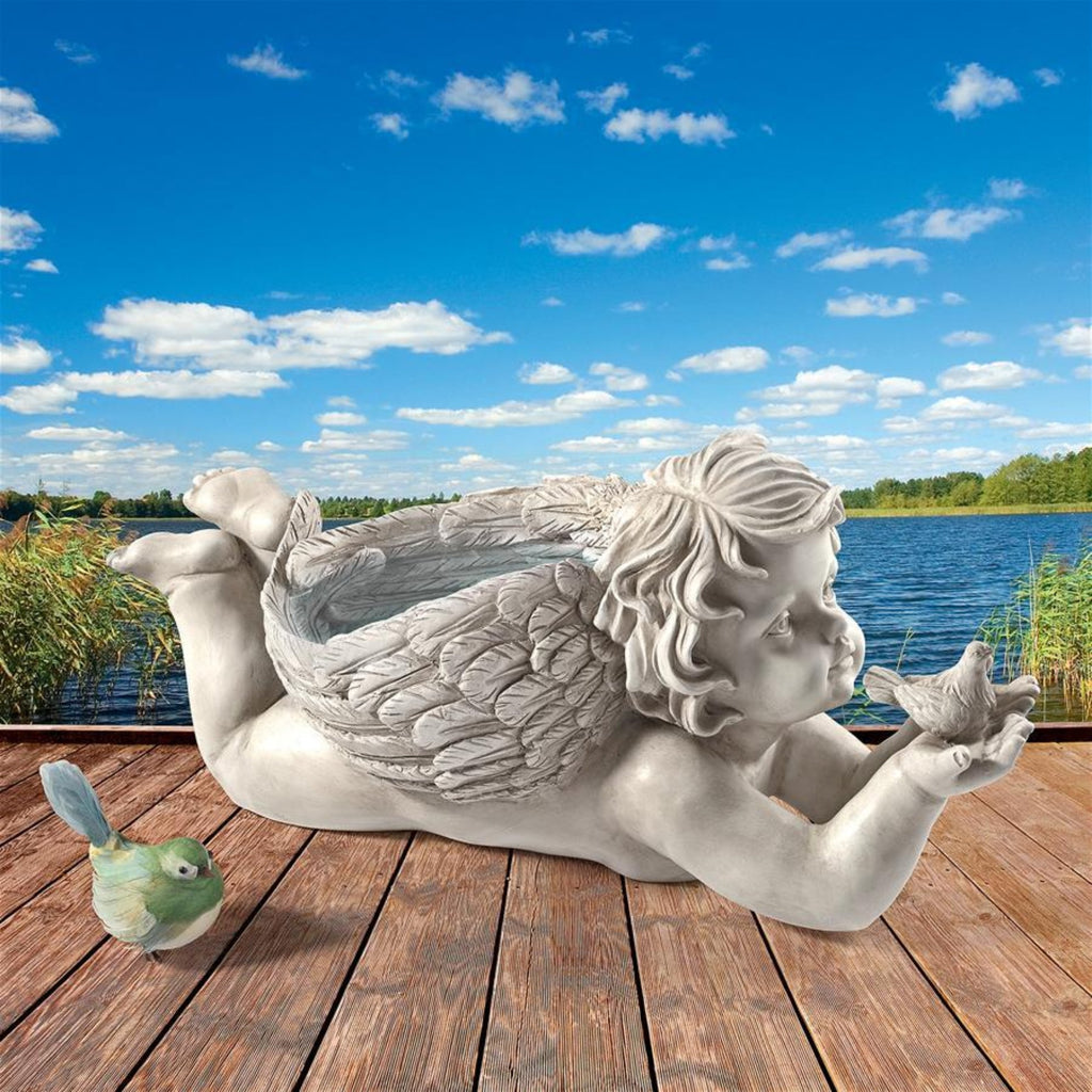 God's Messenger Cherub Garden Figure