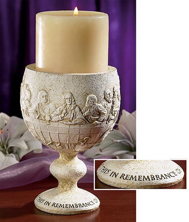 The Last Supper of Jesus Christ Candle Holder